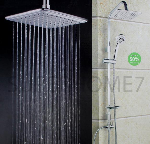 [OFFER]-Heavy Duty Bathroom Solid Brass Rain Shower Set