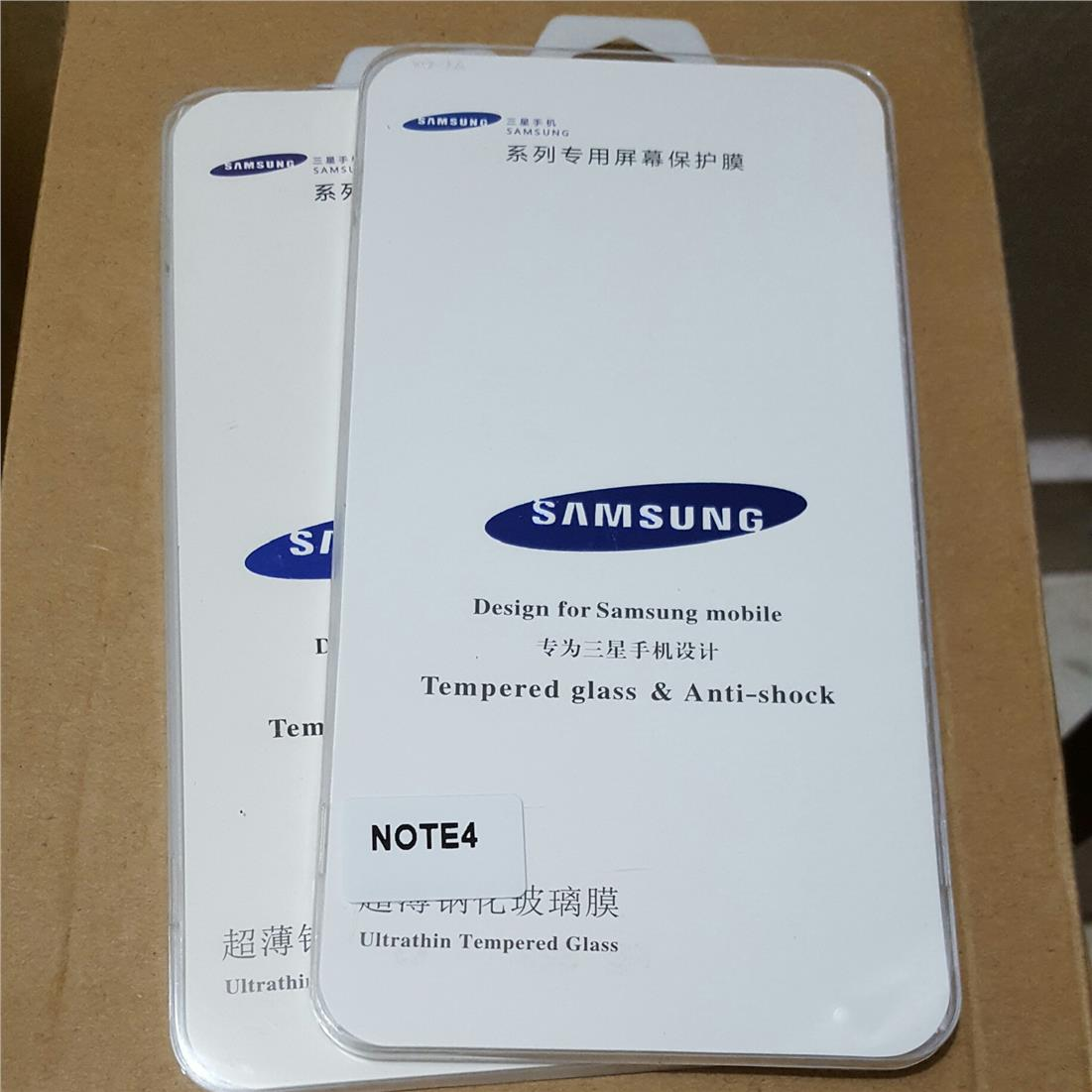 OFFER Samsung Galaxy Note 4 Tempered Glass Screen Protector