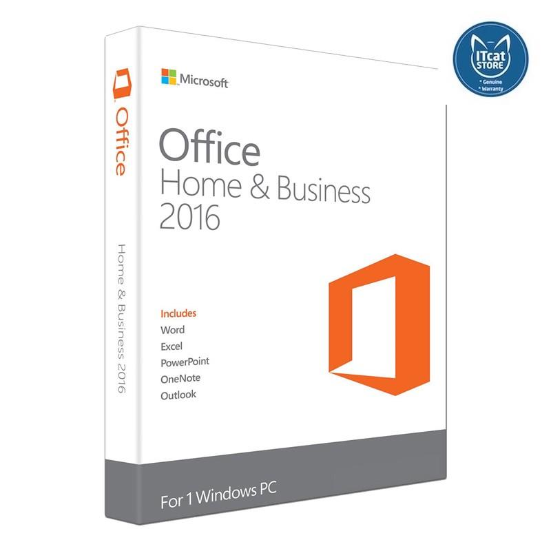 OFFICE MAC HOME BUSINESS 1PK 2016 ENGLISH APAC EM MEDIALESS