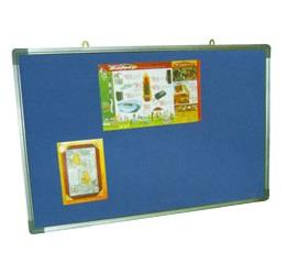 OFFICE SUPPLY | SCHOOL SUPPLY |  VELVET  NOTICE BOARD SIZE: 3'X4'