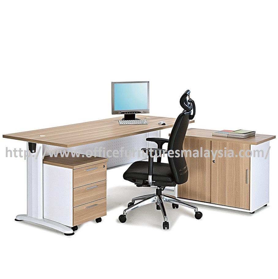 Office table desk oj1500 set 3pcs fu end 9 26 2018 7 15 pm for Affordable furniture malaysia