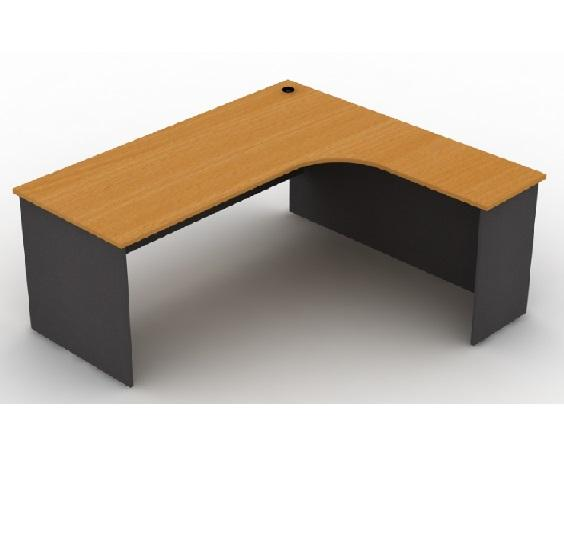 office table l shape writing table malaysia model mp1566 r