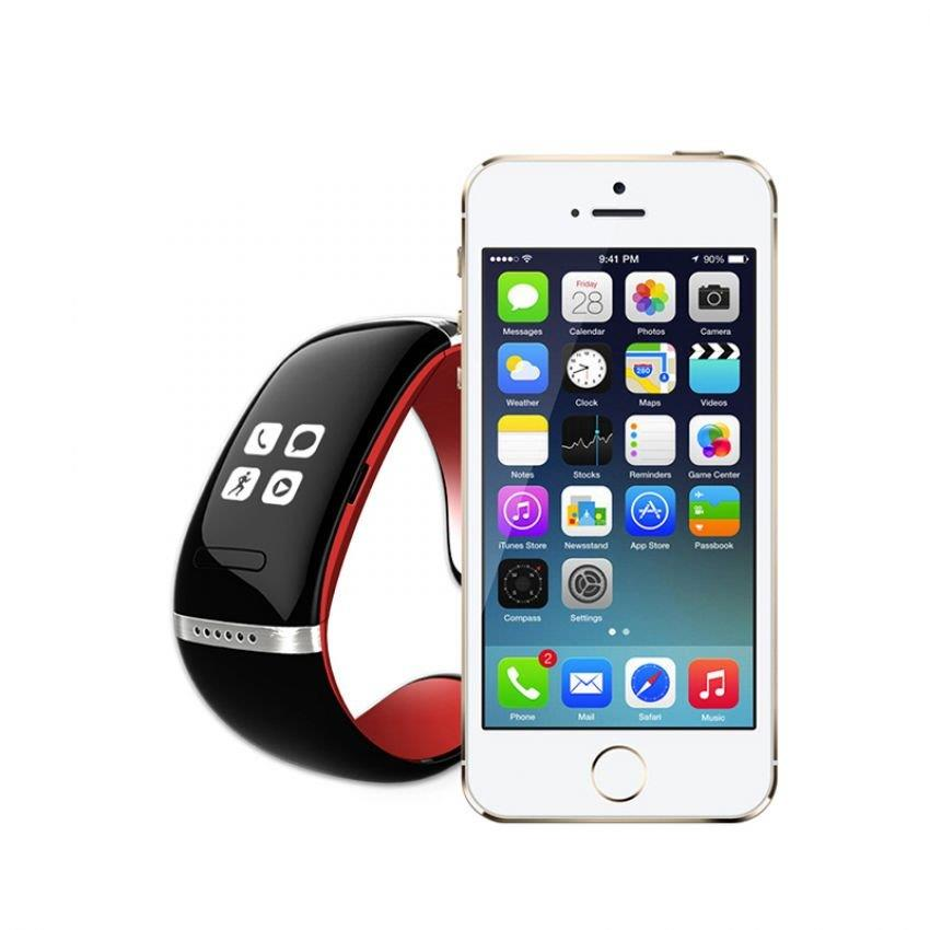 OLED L6 Touch Screen Smart Watch Bracelet Wrist for Android and iOS