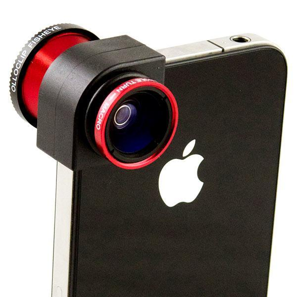 NEW OLLCOLLP 3-in-1 Lens for iPhone 4 & iPhone 4S