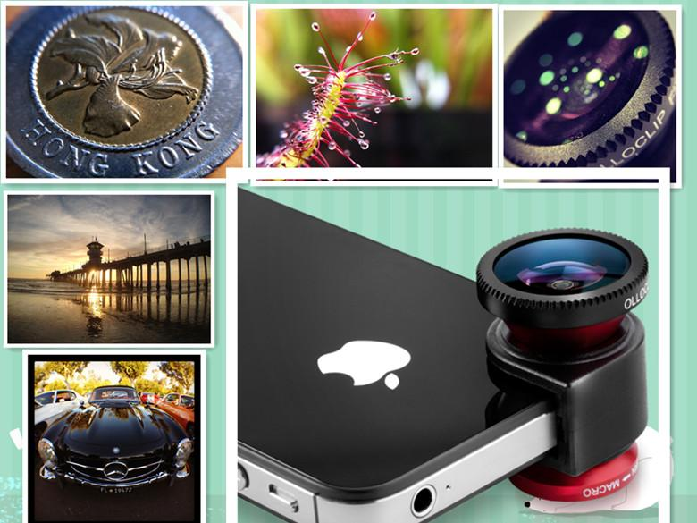 Olloclip 3 in 1 Lens for iPhone 4/4S- Original or Money Back-Raya Offe..