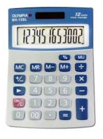Olympia Electronic Calculator Desktop Series MX-12BL