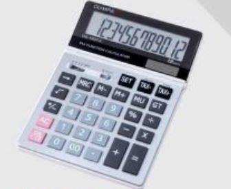 Olympia Electronic Calculator Tax Function Series DZ-120TX