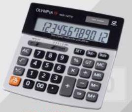 Olympia Electronic Calculator Tax Function Series WZ-12TX