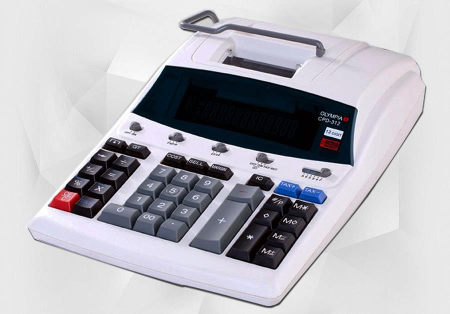 Olympia Printing Calculator CPD-312