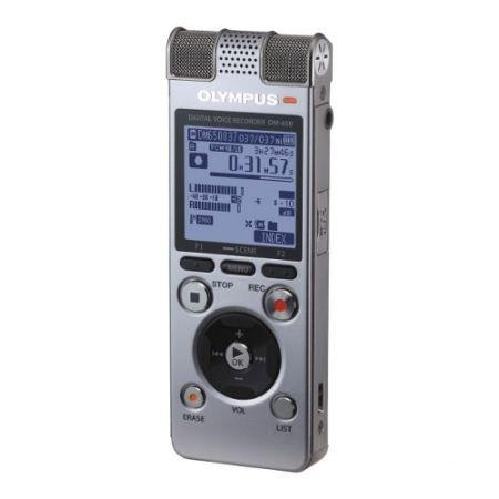 OLYMPUS 4GB DIGITAL VOICE RECORDER WITH MICRO SDHC SLOT, DM-650