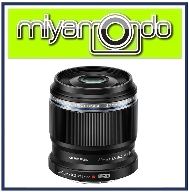 NEW Olympus M.Zuiko Digital ED 30mm f/3.5 Macro Lens