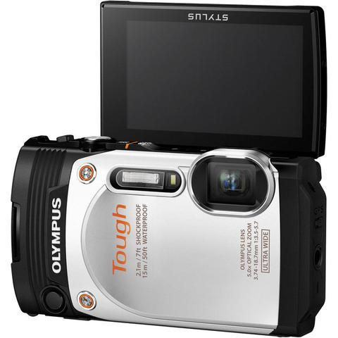Olympus Stylus Tough TG-860 Silver Digital Camera
