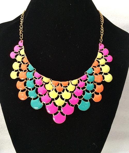 Ombre Teardrop Necklace (Free Shipping)