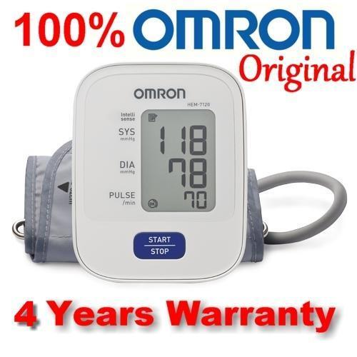Omron HEM-7120 Automatic Blood Pressure Monitor 4 Years Warranty SALES