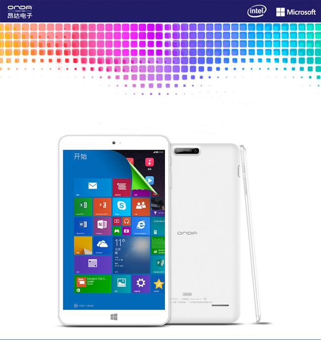 Onda V820w Dual OS 8.0 Inch IPS Screen Windows10 + Android Tablet 32GB