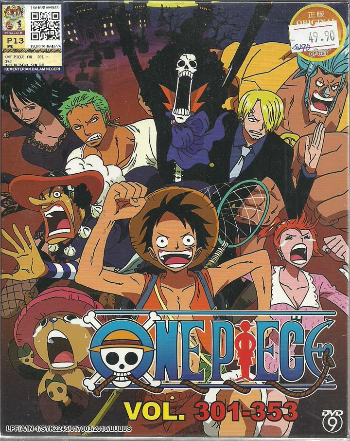 ONE PIECE (BOX 7) - ANIME TV SERIES (end 10/20/2017 4:15 PM)