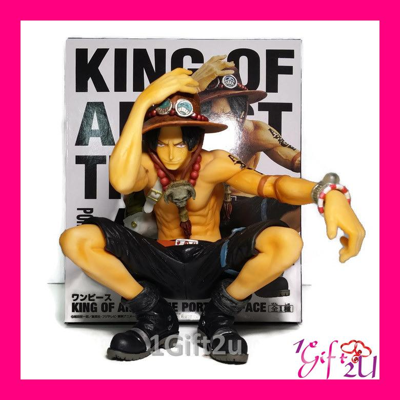 One Piece King Of Artist Portgas D Ace Collectible Action Figure