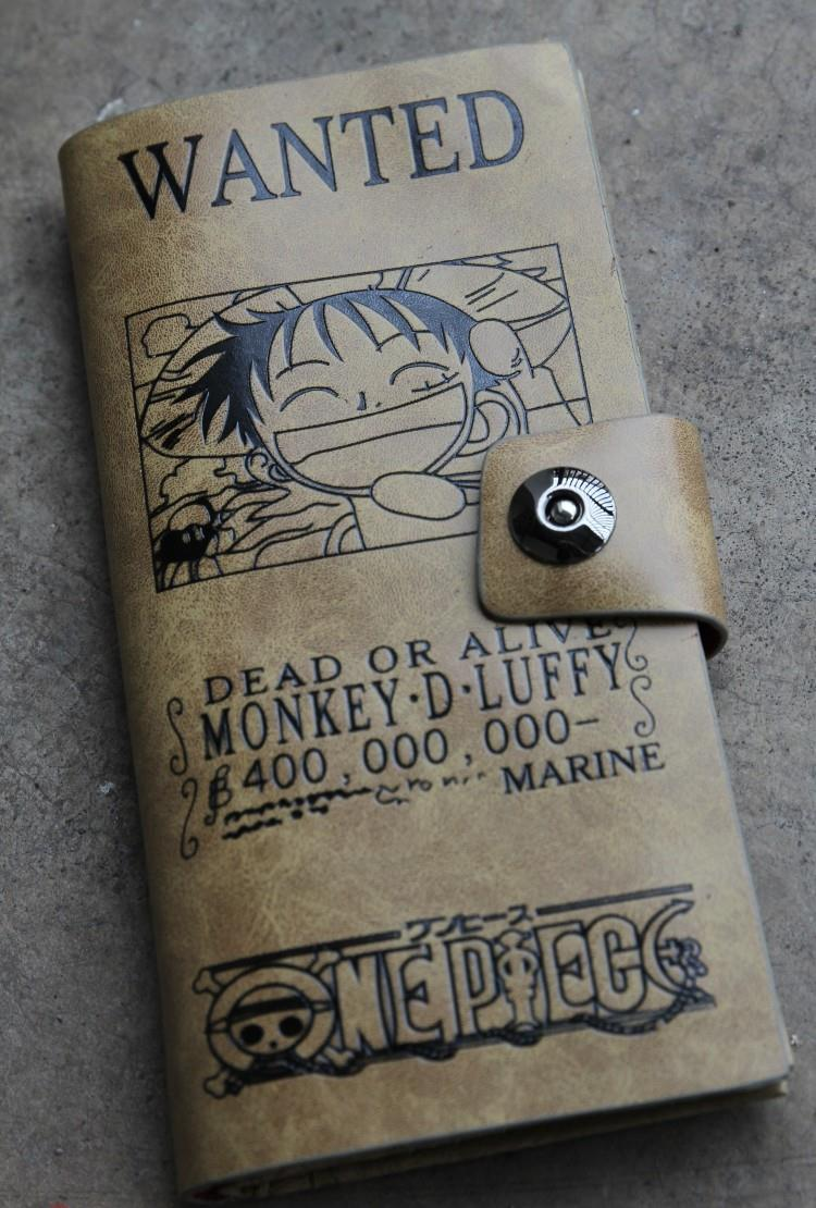 One Piece Money D Luffy 400,000,000 Berris Wallet