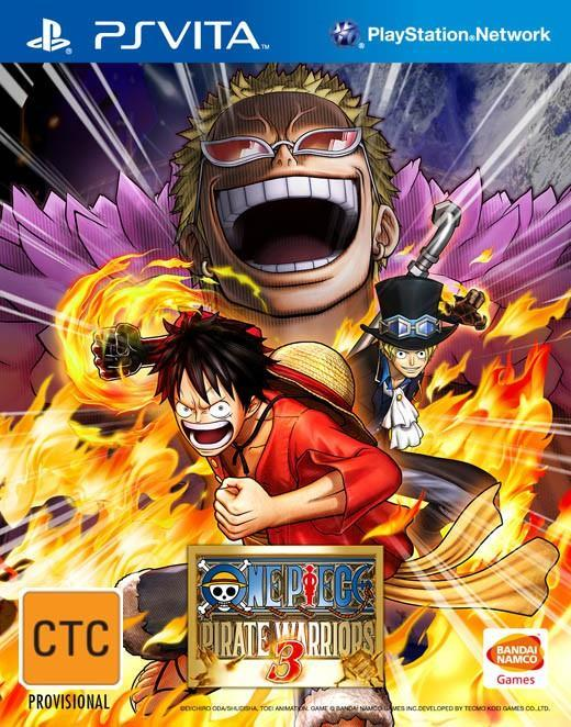 One Piece Pirate Warrior 3 (R3)PS Vita