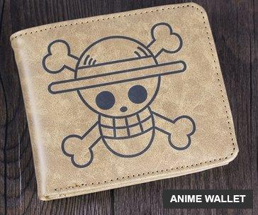 ONE PIECE, TOTORO, ATTACK ON TITAN WALLET PURSE