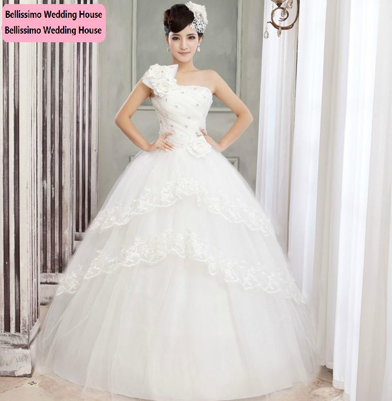 Wedding Dresses Malaysia : One side shoulder classic elegant wedding gown sarawak end time