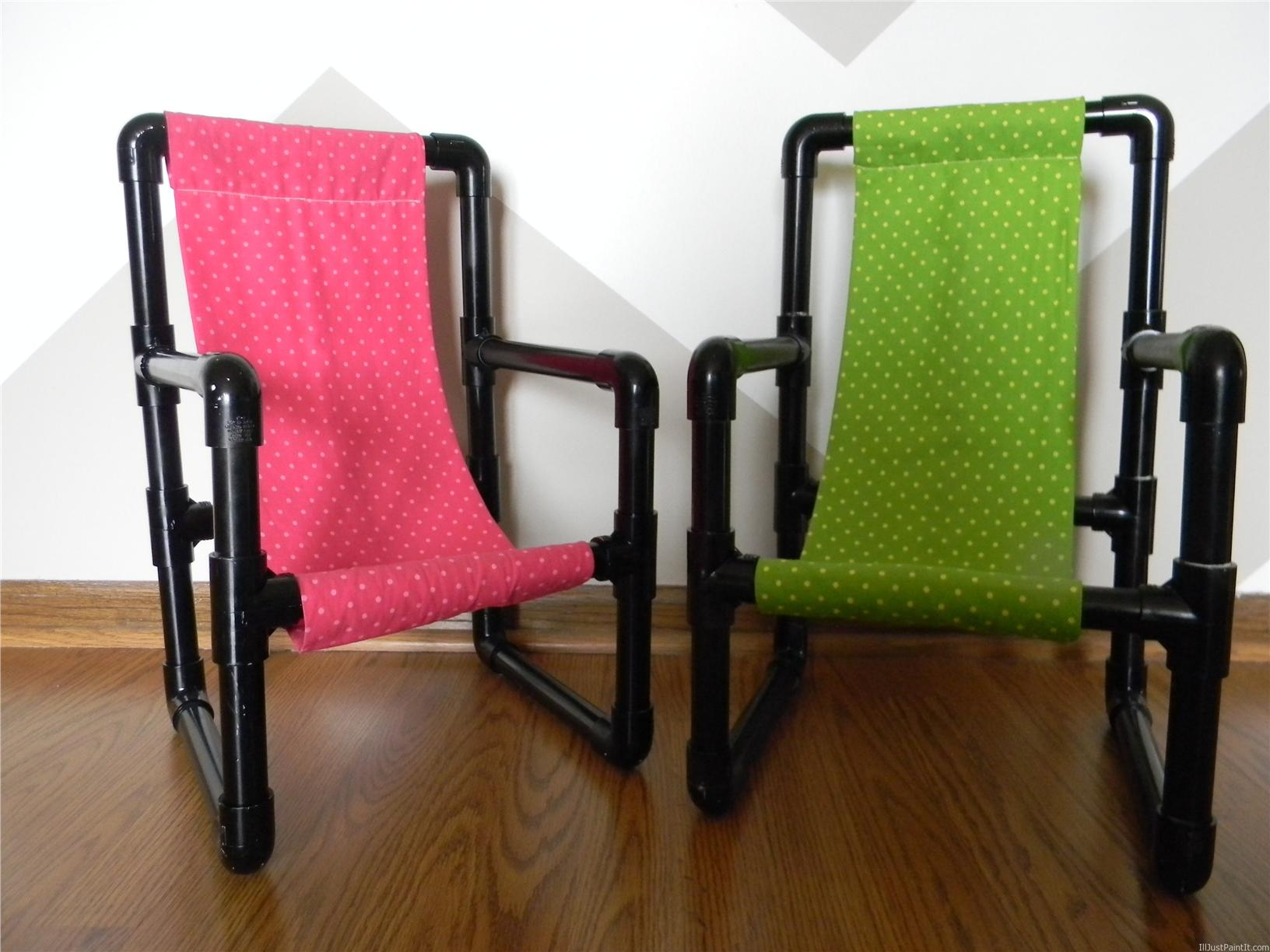 One Unit PVC Pipe Toddler Chairs Best Gift Unique DIY Chairs