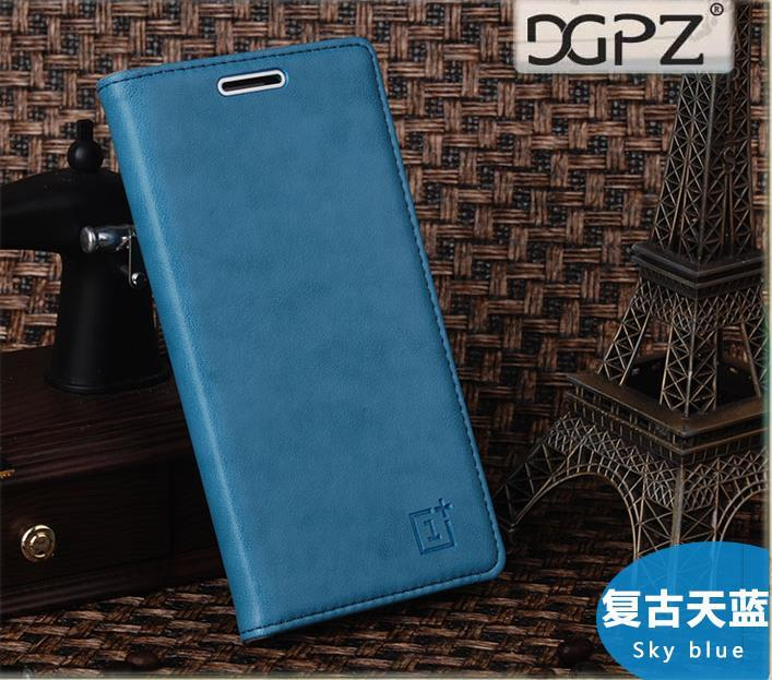 Oneplus One Plus Two 1+2 Flip Cow Leather Case Cover Casing +Free Gift