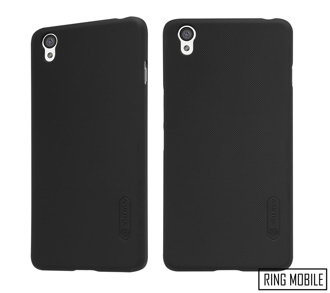 OnePlus X E1001 Nillkin Super Frosted Shield Back Cover - Black