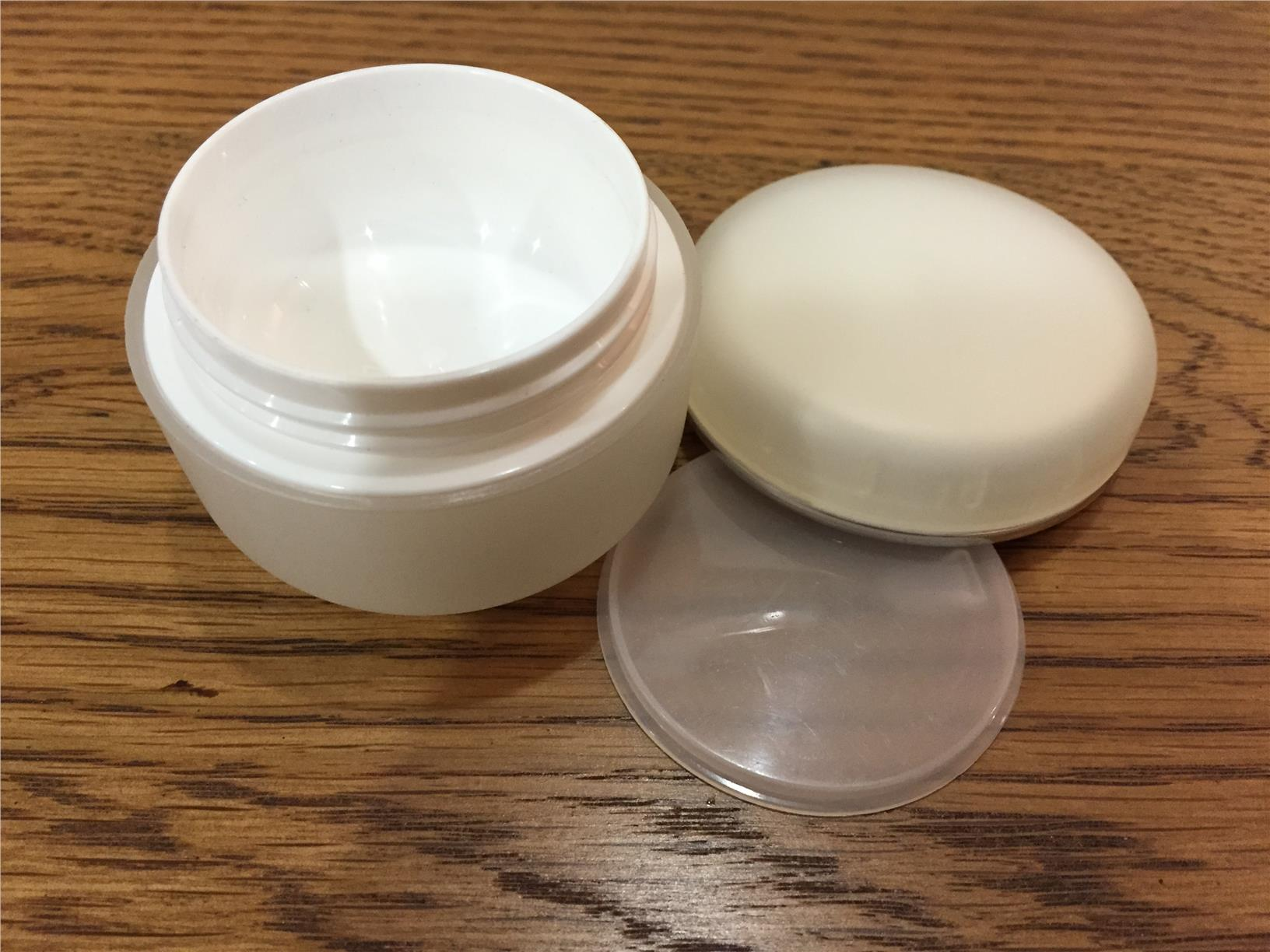 Opaque round container 20g 5 pcs