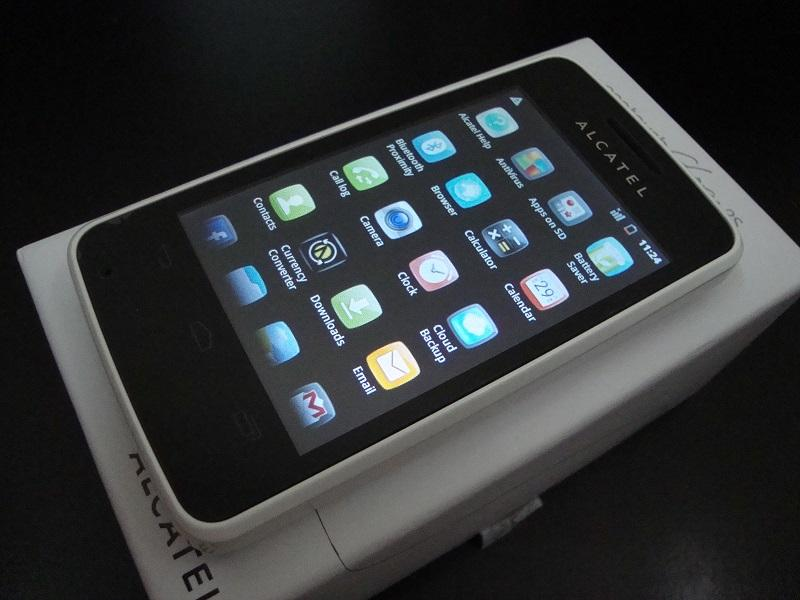 OPEN BOX ORI ALCATEL ONETOUCH GLORY 2S 4010X, 99% NEW 11MTHWR 3.5'/2MP