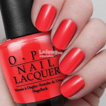 OPI Nail Lacquer 15ml - The Thrill Of Brazil