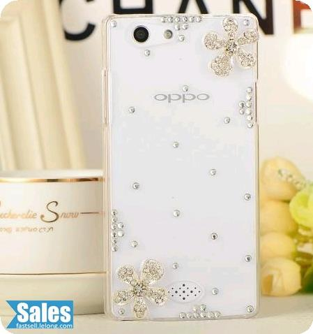 Oppo A33T Handmade Jewel Phone Casing Case Cover