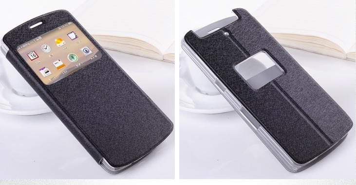OPPO N1 MINI  N5116/ N5117 WINDOWS FLIP PU HANDPHONE CASE