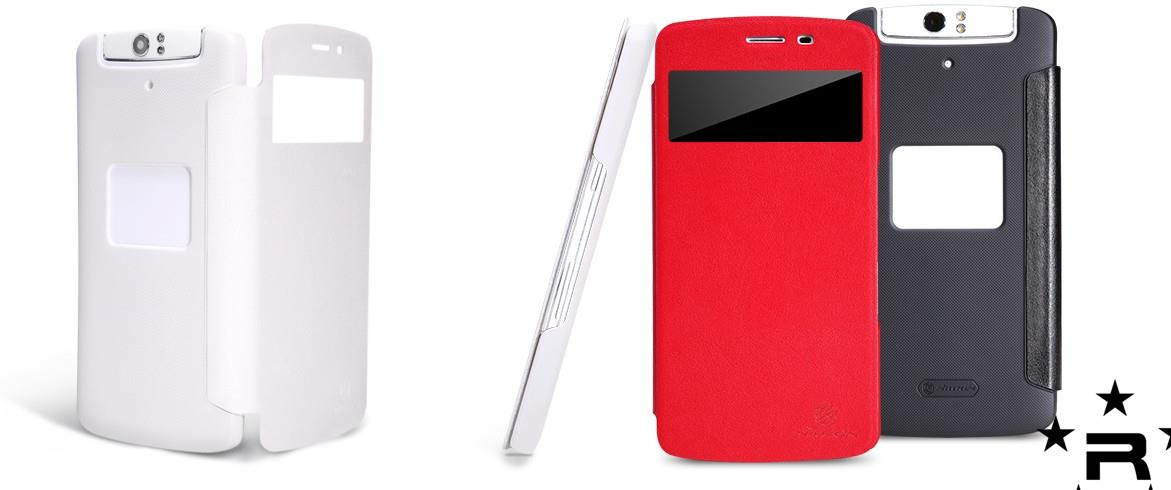 OPPO N1 Nillkin V Series Leather Case - rmtlee