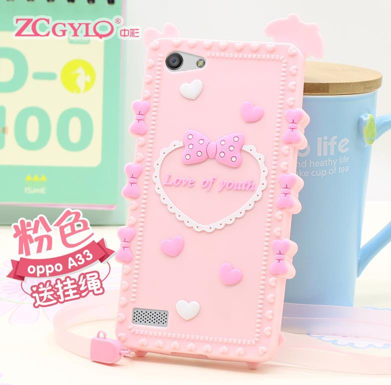 OPPO Neo 5 7 A31 A33 ShakeProof Silicone Case Cover Casing + Free Gift
