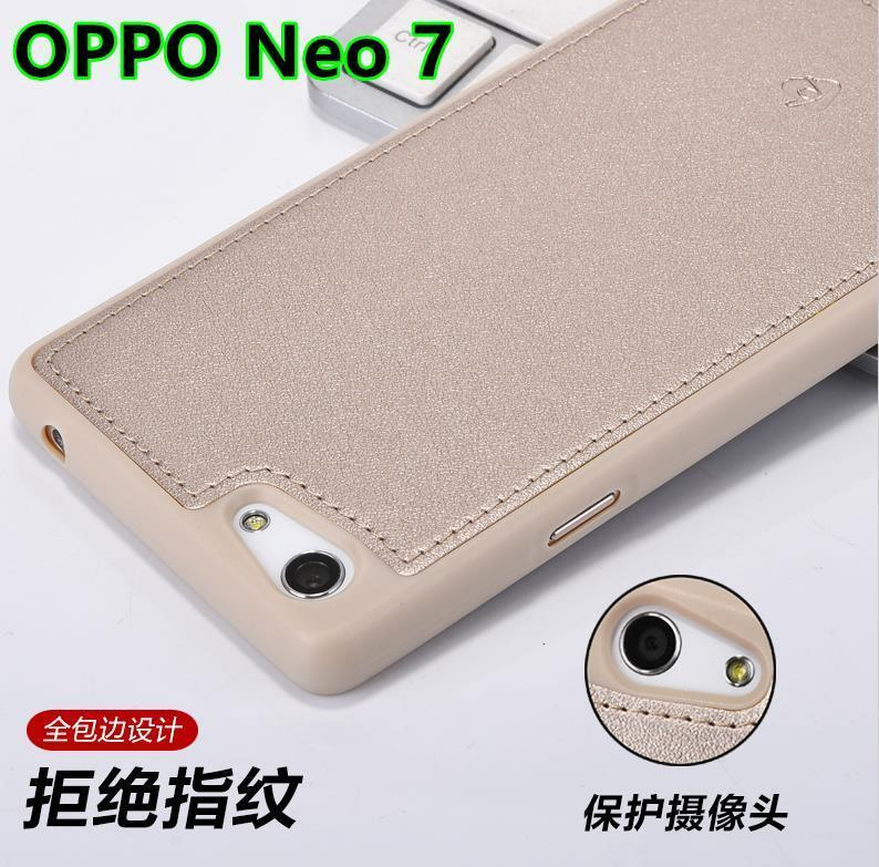 Oppo neo 7 neo7 a33 leather silicone case cover casing itemid