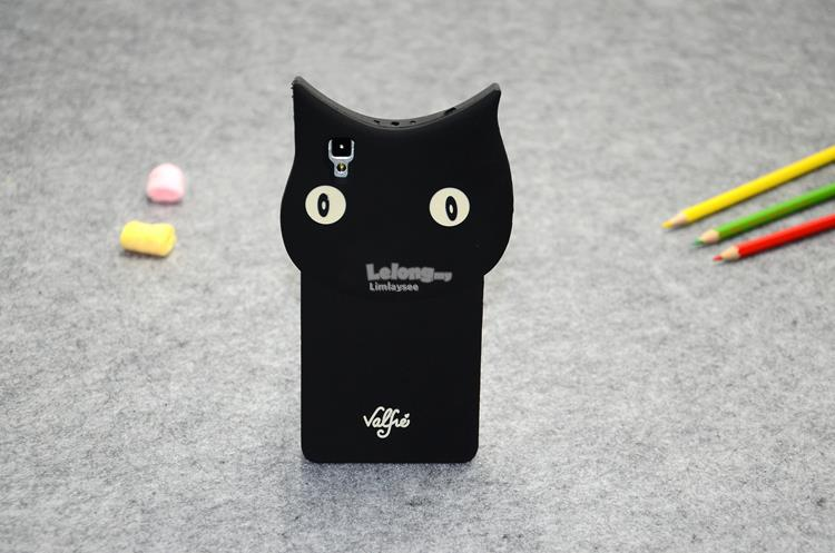 OPPO R7S ★ Black Cat ★ Soft Phone case