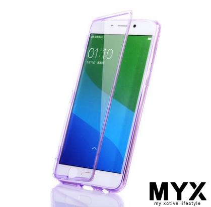 Oppo R9 Flip Silicone Drop Resistance Casing Case Cover