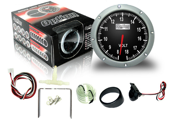 *NEW* OPTION TUNNING 360 Degree Smoke Gauge Volt Meter