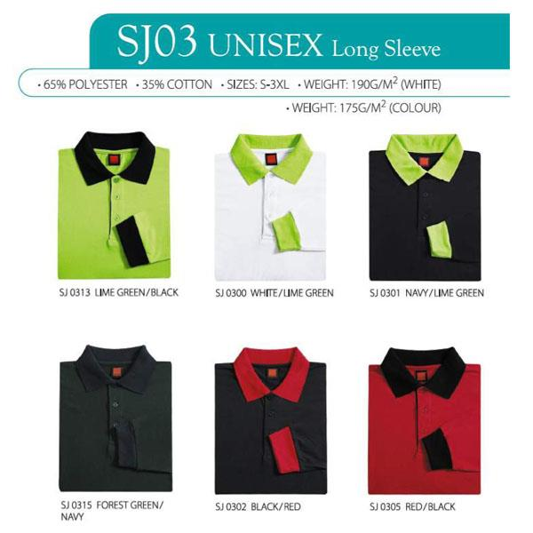 Oren Sport Single Jersey Long Sleeves Polo SJ03 Series