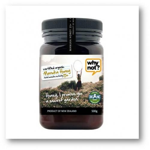 WHY NOT Organic Manuka Honey 15+ (500g)