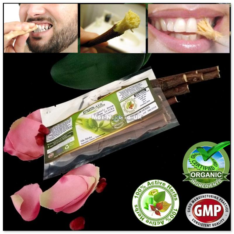 Organic Mithilaya Herbal Neem Toothbrush Chew Sticks Natural Wild Trad