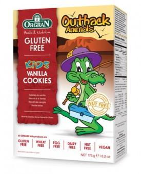 Orgran-Outback animals vanilla cookies-175g
