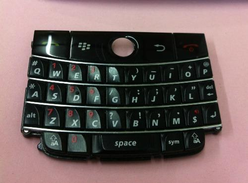 Ori Black Button Keypad BB BlackBerry Bold 9000 Sparepart Repair Service