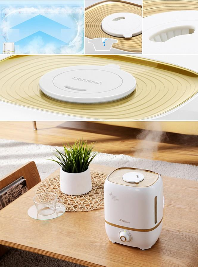 Ori Deerma 4.0L Air Humidifier Purifier +Aroma Space +Double Filter