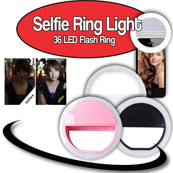 ORI JAPAN Selfie Portable Flash Led Camera Ring Light for All Mobile