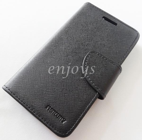 ORI MERCURY Fancy Diary Book Case Cover Pouch Lenovo A1900 ~ALL BLACK