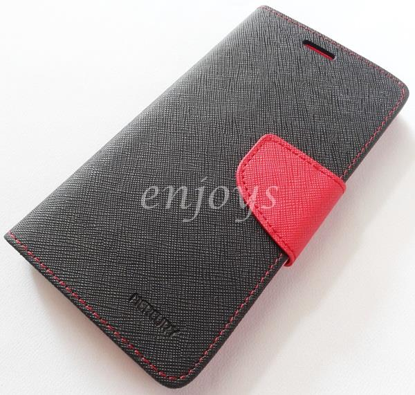 ORI MERCURY Fancy Diary Case Cover Pouch Lenovo Vibe X S960 ~BLACK