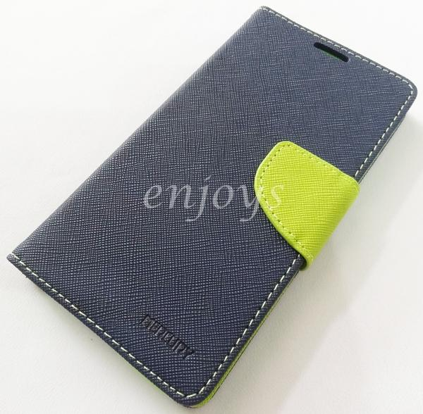 ORI MERCURY Fancy Diary Case Cover Samsung Galaxy A7 / A700FD ~NAVY