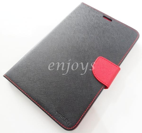 ORI MERCURY Fancy Diary Case Cover Samsung Galaxy Note 8.0 N5100 ~BLK